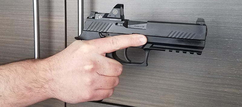 Good Trigger Discipline - keep your finger off the trigger until ready to shoot